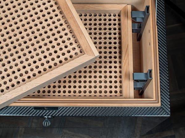 GERBER Humidor Carbon inner space