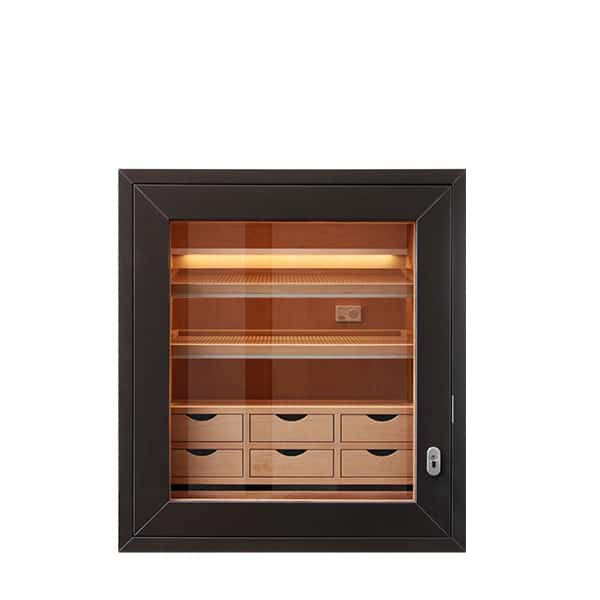 GERBER humidor built-in with drawers