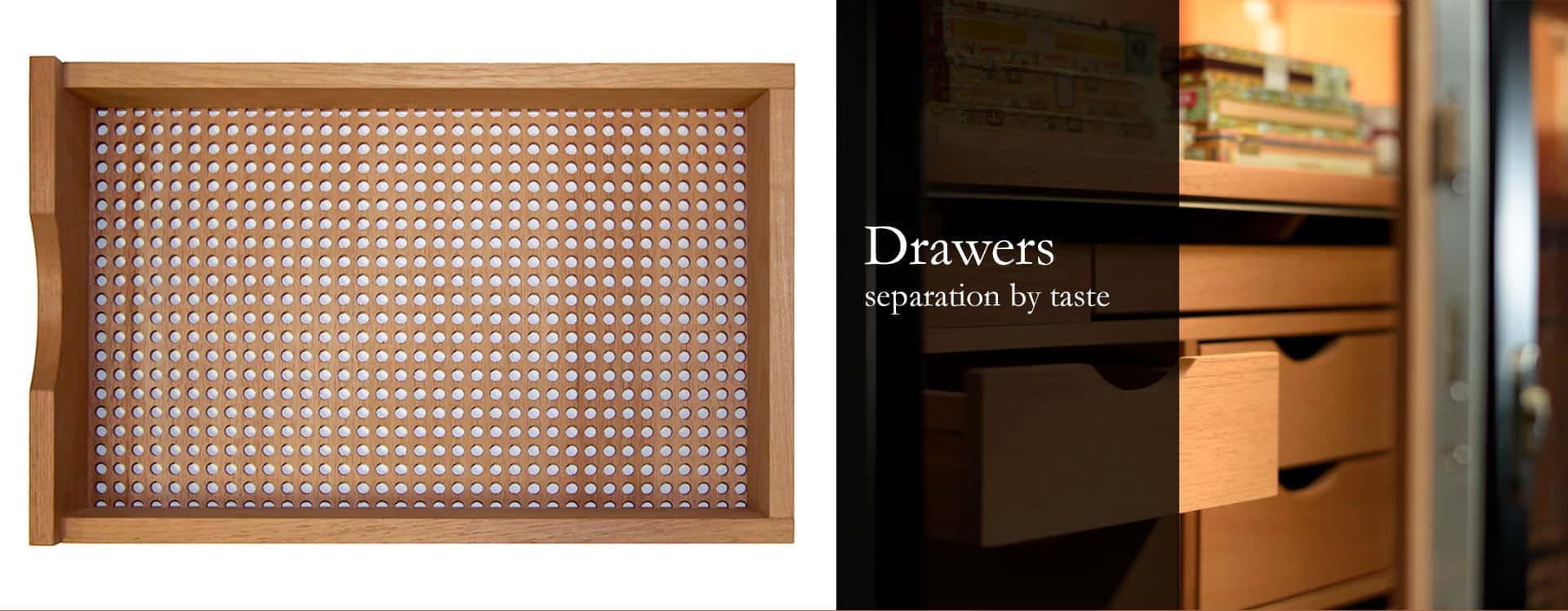 Gerber Humidors drawers