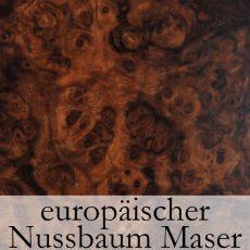 Europaeischer Nussbaum Maser