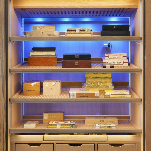 rear wall lighting Number One » GERBER Humidor