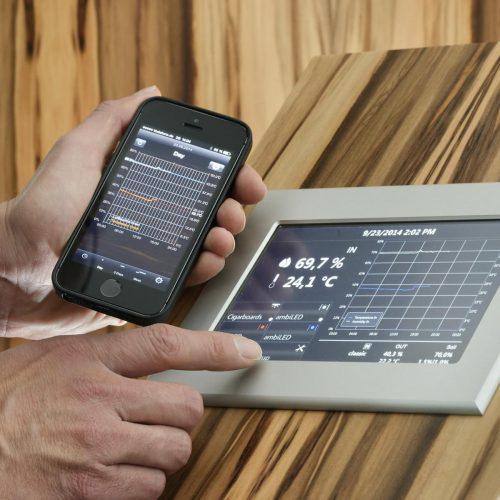 control via app Number One » GERBER Humidor
