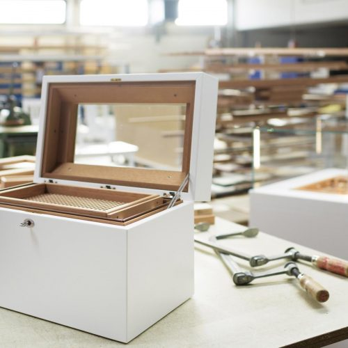 GERBER Humidor Cube manufactory