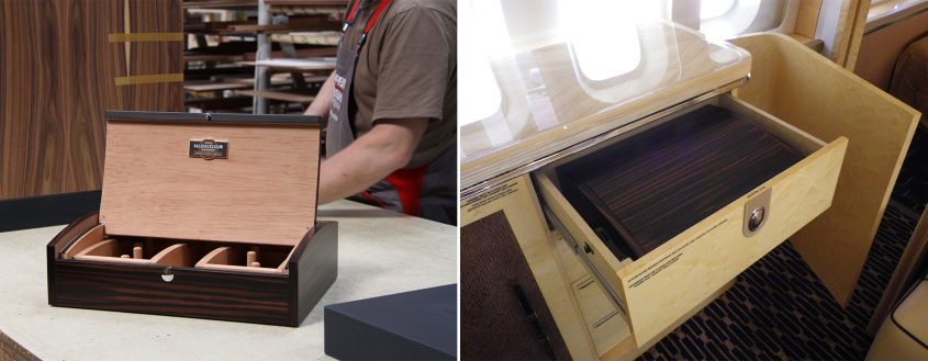 GERBER Humidor for an airplane