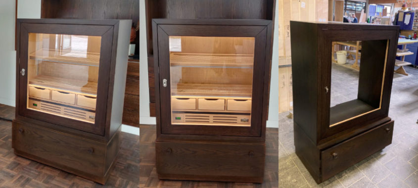 Best humidors made in Germany - equipped with electric humidification system