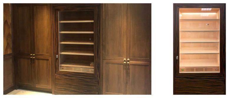 First class humidor cigar cabinet best humidor makassar
