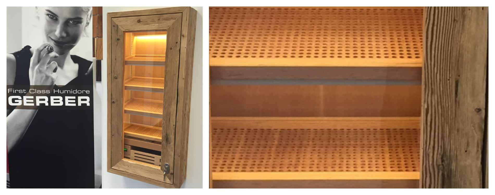 humidor cigar cabinet built-in solution vintage humidfication cigar storage best humidors