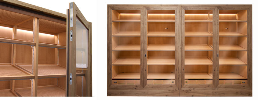 Cigar cabinet for Switzerland