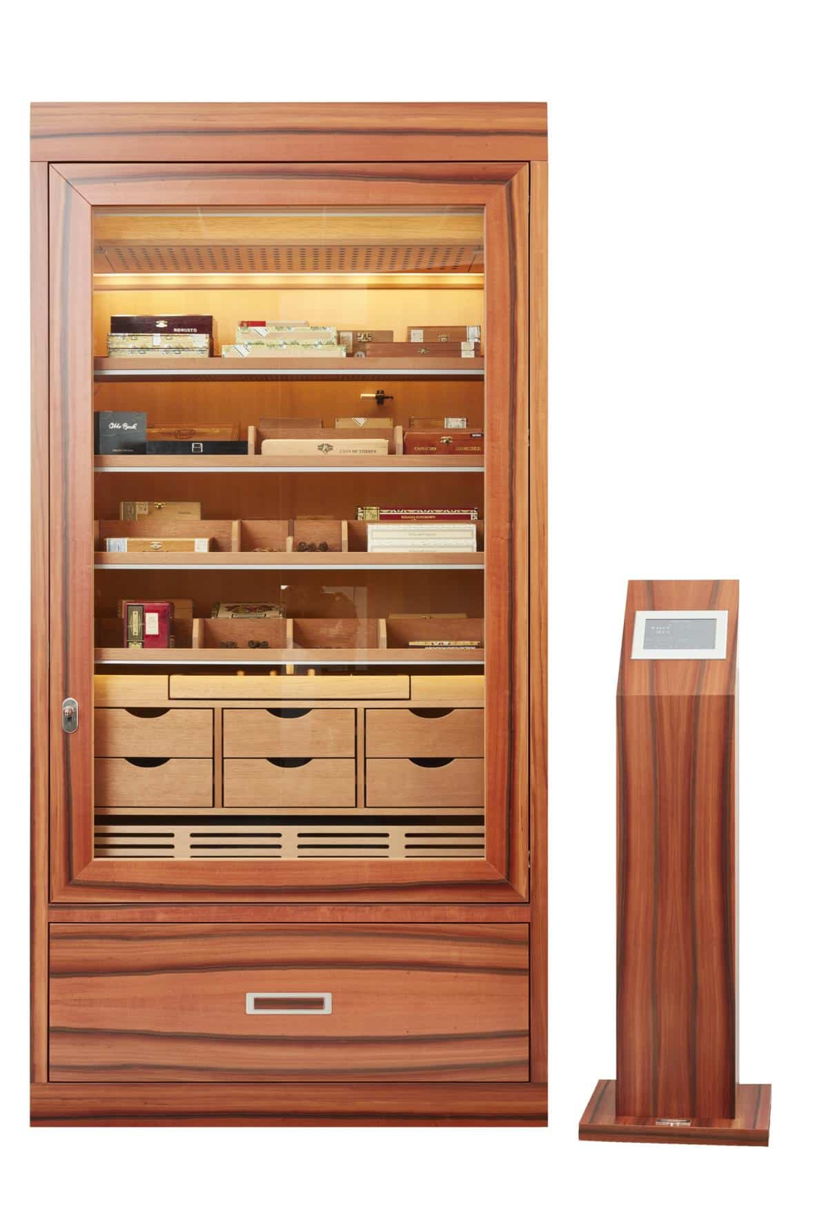 Gerber Number One Humidor in Tineo mit technischer Vollausstattung